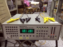 8.Power Analyzer (PM3000 from Voltech, UK)